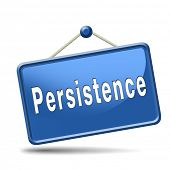 image of persistence  - Persistence will pay off - JPG