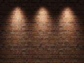 Постер, плакат: Кирпичная стена