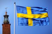 stock photo of sweden flag  - Sweden - JPG