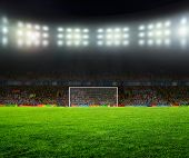 picture of football  - On the stadium - JPG