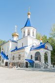 picture of grieving  - The temple in honor of an icon of the Mother of God  - JPG