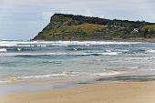 picture of mile  - Seven Mile Beach in Lennox Head in Australia  - JPG