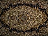 stock photo of carpet  - Persian carpet - JPG