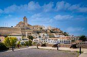 picture of medieval  - Dalt Vila medieval fortress - JPG