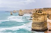 stock photo of 12 apostles  - Twelve Apostles - JPG