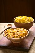stock photo of plantain  - Bowls of sweet  - JPG