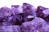 picture of gem  - amethyst gem texture as nice natural mineral background - JPG