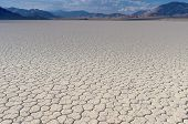 foto of mud  - Mud and Clay of Dried and Unique Racetrack Playa in Deat Valley In California - JPG