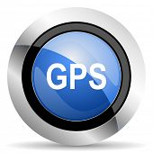 stock photo of gps  - gps icon  original modern design for web and mobile app on white background  - JPG