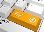 foto of keyboard  - Sell key on keyboard  - JPG