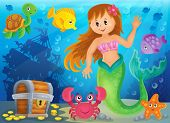 picture of mermaid  - Mermaid theme image 3  - JPG