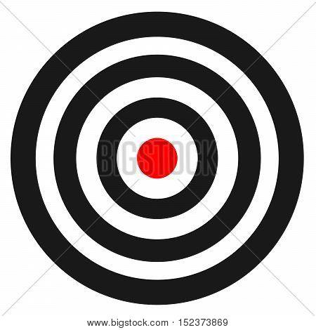 bullseye template printable - blank template for sport target vector shooting