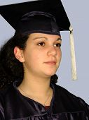 Graduation Girl poster