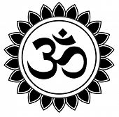 stock photo of nepali  - vector om sanskrit symbol - JPG