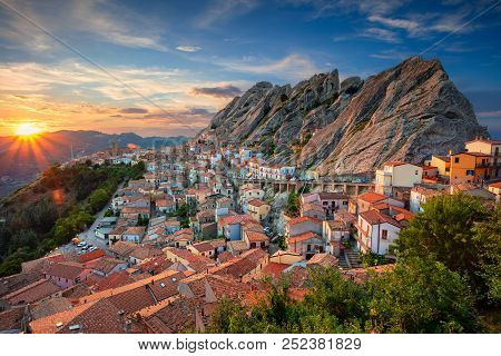 Pietrapertosa Italy Cityscape