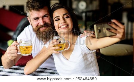 Couple In Love On Date