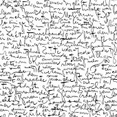 foto of cursive  - Seamless vector wallpaper based on Kafka - JPG