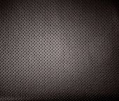Perforated Dark Leather, Textured Background, Design Element. Car Leather Seats poster