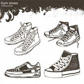 drawing hands - Sport shoes