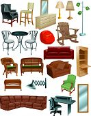 Vector Art of Furniture