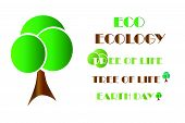 Ecology Logo - Tree Vector - Earth Day - Tree Of Life - Eco Friendly Concept poster