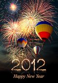 stock photo of new years celebration  - New year 2012 - JPG