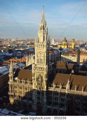 poster of City Hall In Munich, Germany