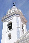 image of senora  - Recoleta church dedicated to Nuestra Senora del Pilar with a cemetery attached - JPG