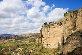 Ronda Cliffs In Andalusia