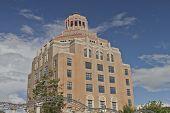 foto of asheville  - Asheville North Carolina city art deco building called the  - JPG