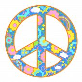 Peace Symbol Happy Theme