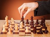 Business-Strategie Schach