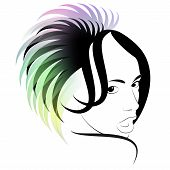 picture of transexual  - Art of a hairdress - JPG