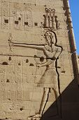 picture of aswan dam  - Details of Philae temple Egypt - JPG