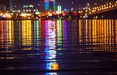 foto of dnepropetrovsk  - Night city - JPG