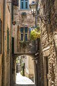 Постер, плакат: Филетто Тоскана древняя деревня