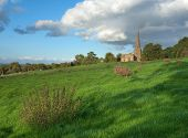 stock photo of church-of-england  - Saintbury church near Chipping Campden - JPG