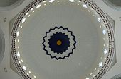 Royal Town Mosque Main Dome Interior