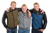pic of peer  - Friends peers in autumn jacket - JPG
