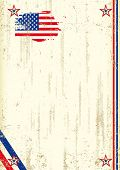 picture of usa flag  - US retro background - JPG