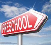 foto of nursery school child  - preschool education kindergarten nursery school or playgroup - JPG