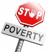 picture of poverty  - stop poverty give and donate to charity help the poor - JPG