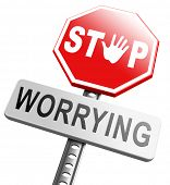 pic of panic  - stop worrying no more worries solve all problems and relax keep calm and dont panic - JPG