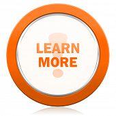 picture of more info  - learn more orange icon   - JPG