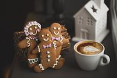 stock photo of ginger bread  - Beautiful - JPG