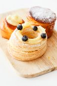 foto of french pastry  - french pastries - JPG