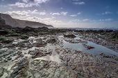 pic of inlet  - beautiful coastline in cornwall - JPG