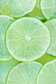 image of lime  - fresh lime sliced of fresh lime lime background - JPG