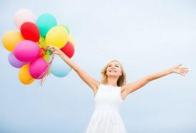 stock photo of celebrate  - summer holidays - JPG