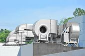 picture of ventilator  - Industrial steel air conditioning and ventilation systems - JPG